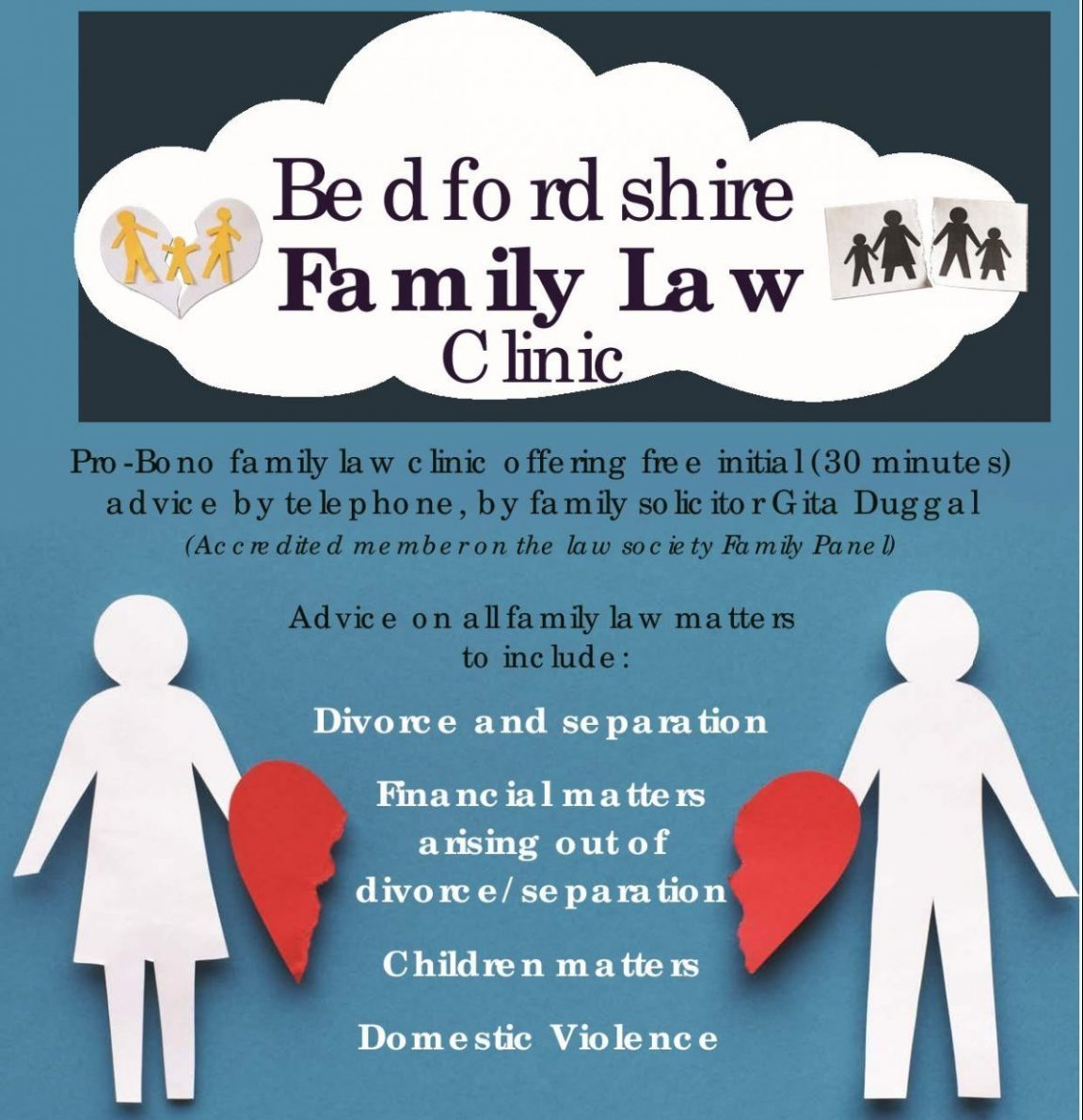 Bedfordshire Family Law Clinic